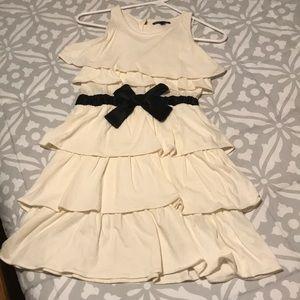 GAP ruffle girls dress with bow, new w/o tags
